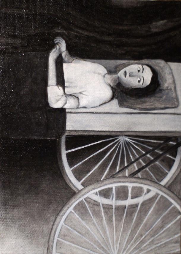 Annabelle Verhaeghen, Chaise Roulante.